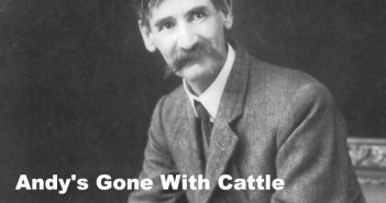 Andy's gone with cattle