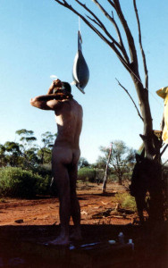 Outback shower