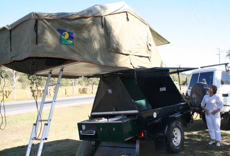 Rooftop Tent Australian Camping